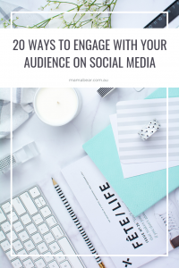 20 ways to engage with your audience on social media