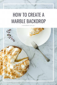 How to create a marble backdrop - pin