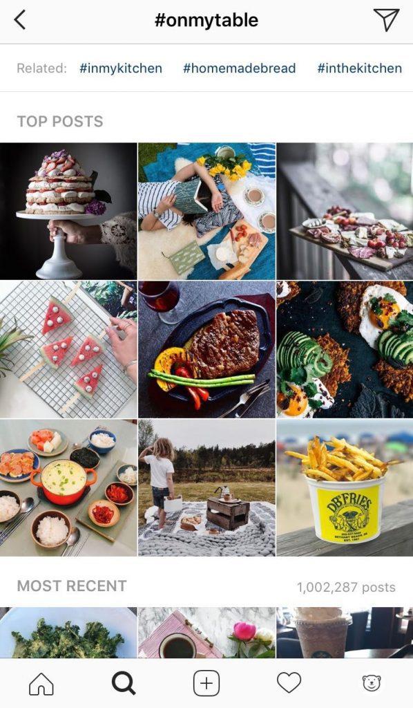 Instagram etiquette - hashtags