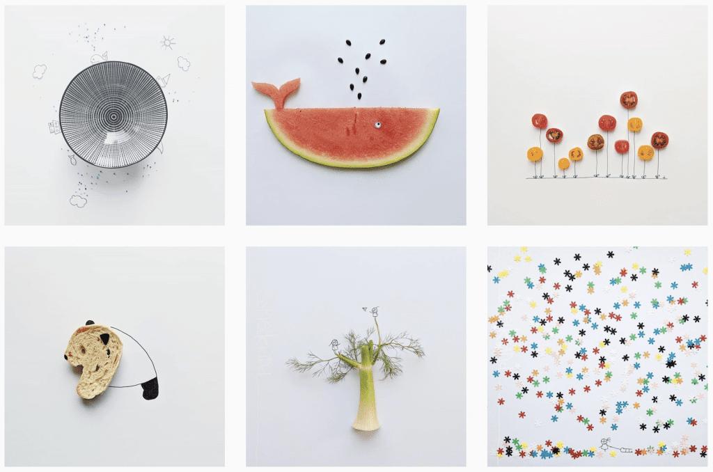 creative instagram accounts - @spielkkind