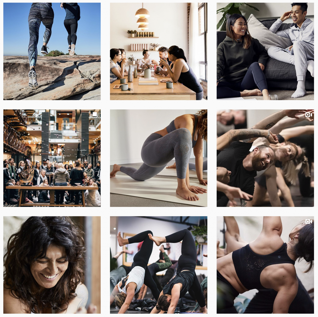 lululemon instagram images