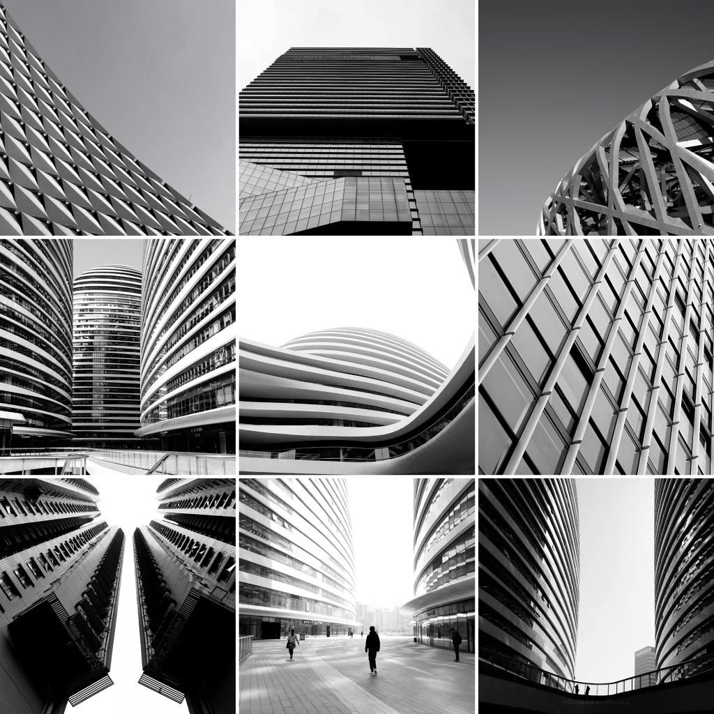 8 Instagram grid layout ideas - presets